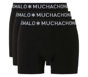 Muchachomalo 3-pack Men Short Black-S (Zwart, S)
