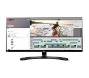"LG 34UM88C 34"" UltraWide Quad HD IPS Zwart computer monitor LED display"