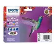 Epson Multipack 6-kleur T0807 Claria Photographic Ink