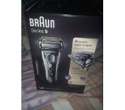 Braun Series 9 9296cc Wet&Dry Folie Trimmer Chroom