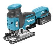 Makita DJV181RTJ 18V Li-Ion accu decoupeerzaag set (2x 5.0Ah accu) in Mbox - T-greep - koolborstelloos