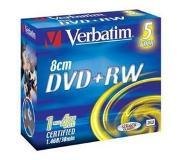 Verbatim DVD+RW 8cm Matt Silver