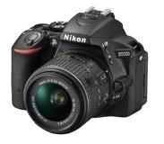 Nikon D5500 Musta 18-55mm VR II