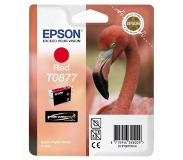Epson inktpatroon Red T0877 Ultra Gloss High-Gloss 2