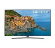 "LG 49UJ670V 49"" 4K Ultra HD Smart TV Wi-Fi Musta, Hopea LED-televisio"