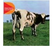 Rock 'n Roll Pink Floyd - Atom Heart Mother