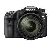 Sony α77 II-camera met A-bevestiging, APS-C-sensor en 16-50mm-zoomlens