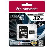 Transcend 32GB microSDHC Class 10 UHS-I 32GB MicroSDHC UHS Class 10 flashgeheugen