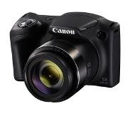 "Canon PowerShot SX430 IS Bridge fototoestel 20.5MP 1/2.3"" CCD 5152 x 3864Pixels Zwart"