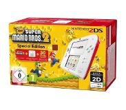 Nintendo 2DS Wit/Rood + New Super Mario Bros. 2
