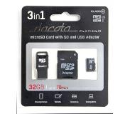 Dacota Platinum DACOTA P MEMORY KIT 3IN1 32GB C10