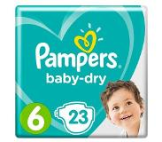 Pampers Baby-Dry Maat 6 (Extra Large) 15+ kg Luiers