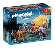 Playmobil Knights 6005 Chevaliers de l`Aigle avec charrette piégée