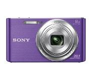 "Sony Cyber-shot DSC-W830 Appareil-photo compact 20.1MP 1/2.3"" CCD (dispositif à transfert de charge) 5152 x 3864pixels Violet"