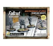 Modiphius Entertainment Fallout Wasteland Warfare - BoS Frontline Knights