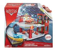 Disney Pixar Cars Piston Cup racing garage Rood