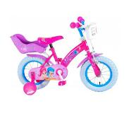 Shimmer and Shine 16 inch kinderfiets Roze