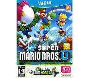 Games Nintendo - New Super Mario Bros. U + New Super Luigi U Bundle, Wii U Version de base+module complémentaire Wii U