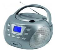 Soundmaster SCD3800TI Portable CD player Titanium CD-speler/recorder