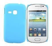 Carryme Lichtblauw hardcase hoesje Samsung Galaxy Young