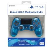 PLAYSTATION GAMES PS4 DualShock controller V2 - Crystal Blue