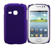 Carryme Paars hardcase hoesje Samsung Galaxy Young