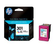 HP 301 drie-kleuren inktcartridge