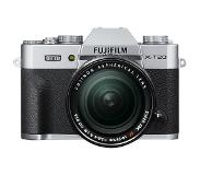 Fuji Fujifilm X-T20 Body + 18-55mm - Zilver
