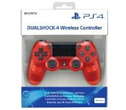 Games PS4 DualShock controller V2 - Crystal Red