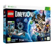 LEGO Dimensions 71173 STARTER PACK BATMAN, GANDALF, WYLDSTYLE, BATMOBILE - Xbox 360