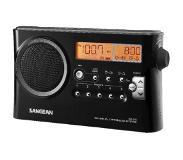 Sangean PR-D4 Kannettava Musta radio