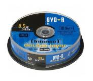 Intenso DVD+R 8.5GB, DL, 8x 8.5GB DVD+R 10stuk(s)