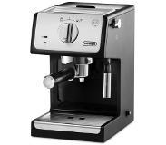 Delonghi ECP 33.21 2tasses Espresso machine 1.1L Noir, Argent machine à café