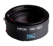 Kipon Baveyes adapter - NEX body - Nikon objectief