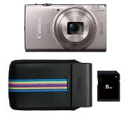 Canon Ixus 285 Essentials Kit Zilver