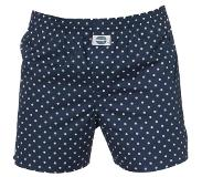 Deal Boxershort, Dots, Medium (Blauw, Wit, M)