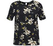 Pieces Shortsleeve bloemen Blouse