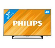Philips 6000 series Erittäin ohut 4K Smart LED -TV 50PUS6262/12