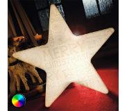 8 seasons LED-ster Shining Star Merry Christmas