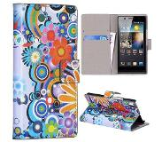 Carryme Powerflower booktype hoesje Huawei Ascend Y300