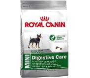 Royal Canin 2 x 2 kg Royal Canin Size Mini + Voerbox gratis! - Mini Digestive Care