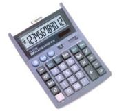 Canon TX-1210E 12-digit desktop display calculator