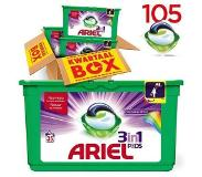Ariel 3 in 1 pods Color & Style 3 in 1 pods Color & Style - 105 wasmiddel capsules