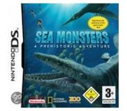 Seikkailu: Zoo digital publishing - Sea monsters - a prehistoric adventure (nintendo ds)