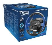 Thrustmaster T150 Force Feedback Stuurwiel + pedalen PC, PlayStation 4, Playstation 3 Zwart, Blauw