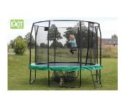 Exit JumpArenA All-in 1 305 trampoline (Kleur rand: grijs/groen)