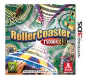 Games Nintendo - Rollercoaster Tycoon 3D, 3DS