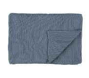 Marc O'Polo Marc O'Polo Nordic Knit Plaid 130 x 170 cm Smoke Blue