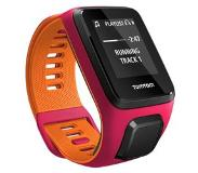 TomTom Runner 3 Cardio + Music Pink/Orange - S