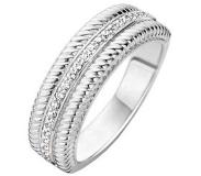 Ti sento Milano Ring 12081ZI - Maat 52 (16.50 mm) - Gerhodineerd Sterling Zilver